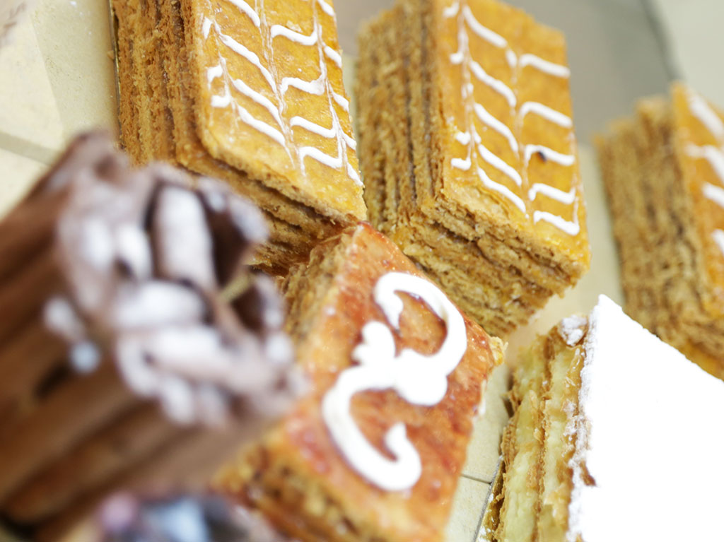 Cream millefeuille